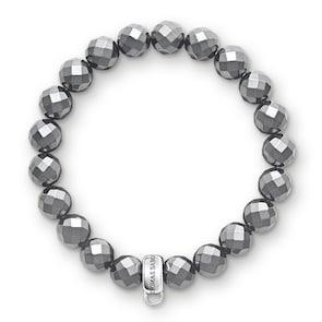 Thomas Sabo Bracelet Charm Hématite