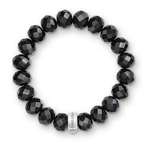 Thomas Sabo Bracelet Charm Obsidienne