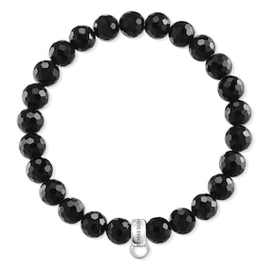 Thomas Sabo Bracelet Charm Noir