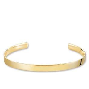 Thomas Sabo Sterling Silver Bracelet Jonc Love Cuff