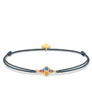 Thomas Sabo Sterling Silver Glam & Soul Bracelet Little Secret Pierres Multicolores