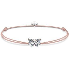 Thomas Sabo Sterling Silver Glam & Soul Bracelet Little Secret Papillon