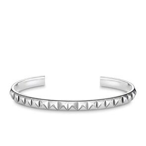 Thomas Sabo Sterling Silver Glam & Soul Bracelet Jonc Aspect Riveté