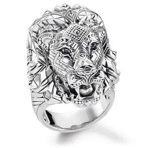Thomas Sabo Sterling Silver Glam & Soul Bague Lion