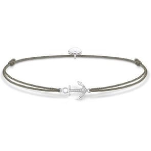 Thomas Sabo Sterling Silver Glam & Soul Chaîne de Cheville Little Secret Ancre