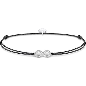 Thomas Sabo Sterling Silver Glam & Soul Chaîne de Cheville Little Secret Infinity