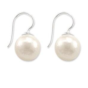 Thomas Sabo Sterling Silver Glam & Soul Boucle d'oreilles Perles Moyenne