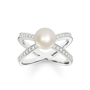 Thomas Sabo Sterling Silver Glam & Soul Solitaire Perle