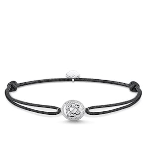 Thomas Sabo Sterling Silver Rebel at heart Bracelet Little Secret Foi, Amour, Espoir