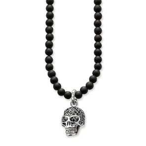 Thomas Sabo Sterling Silver Rebel at Heart Chaîne Tête de Mort