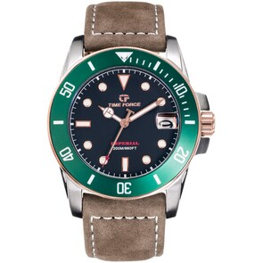 Time Force Imperial Diver Marron