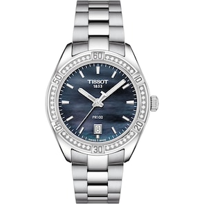 Tissot PR 100 Sport Chic Lady Diamonds
