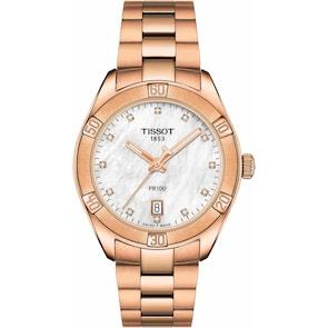 Tissot PR 100 Sport Chic Lady Diamonds
