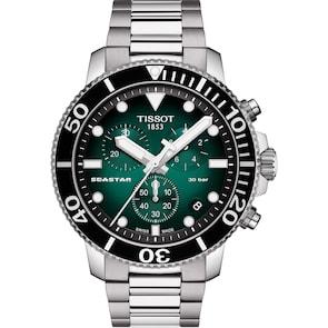 Tissot Seastar 1000 Quartz Chronographe Vert