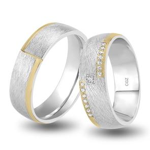 14 carats / 585 or jaune/gris