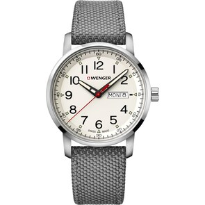 Wenger Attitude Heritage Day Date Gris Ø 42mm
