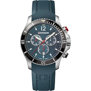 Wenger Seaforce Chrono Diver Pétrole Ø 43mm