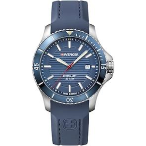 Wenger Seaforce Diver Bleu / Silicone Ø 43mm