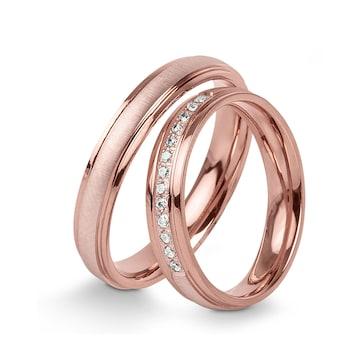 14 carats / 585 or rose