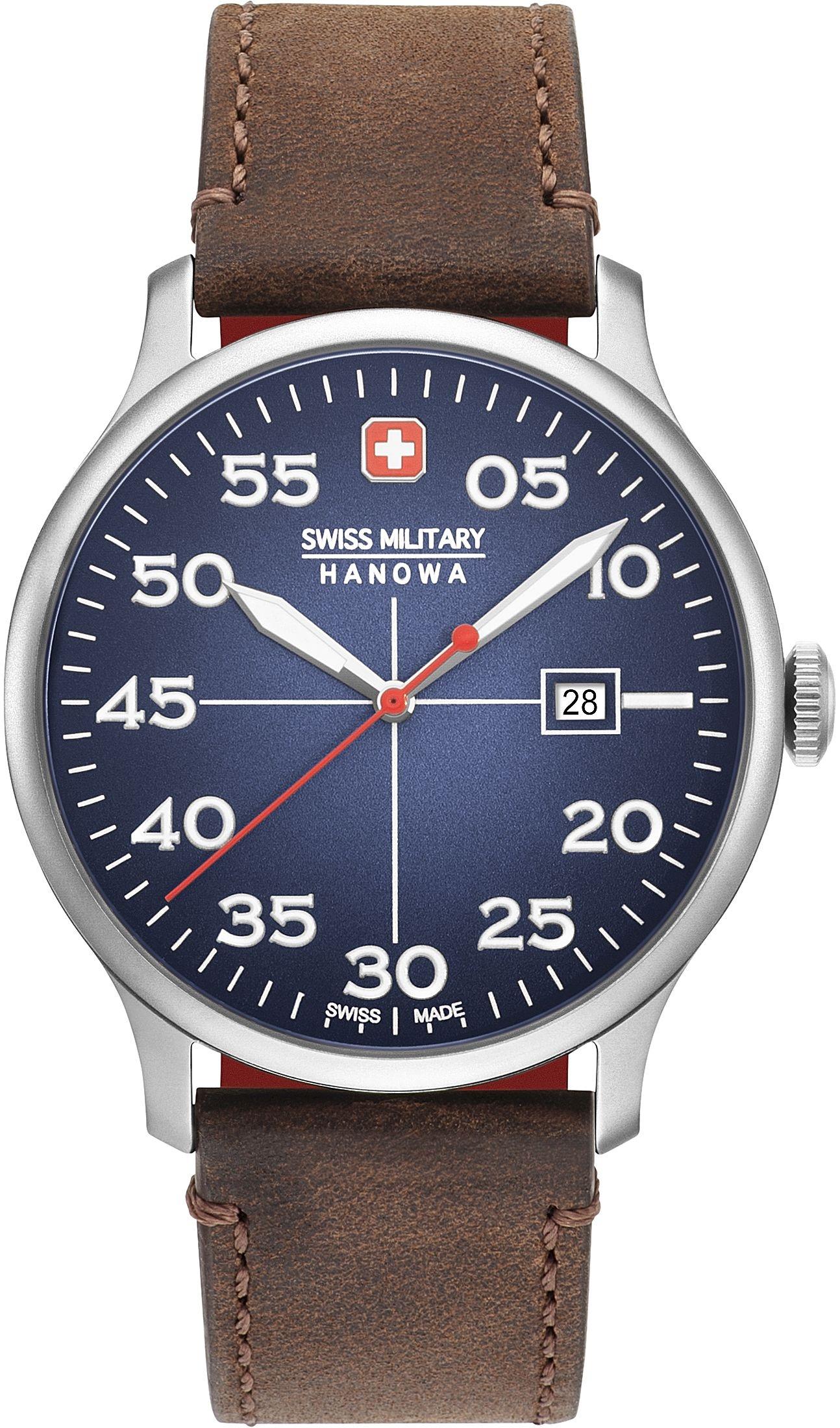 Military 04 Swiss Active Hanowa 4326 003 Herrenuhr06 Duty qcRS34ALj5