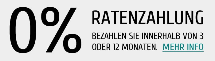 0%-Ratenzahlung