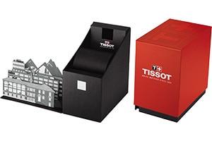 Boîte de montre d'origine de Tissot