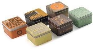 Original, dekorative Uhrenbox von Fossil
