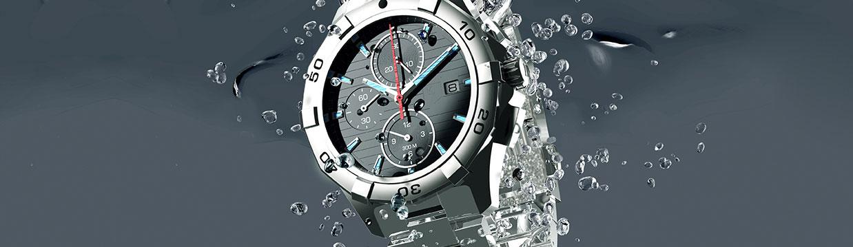 Uhr ins Wasser gefallen