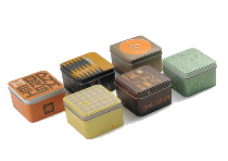Fossil original, dekorative Uhrenbox