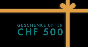 Geschenke unter CHF 500