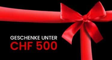 Geschenke für Frauen unter CHF 500.-