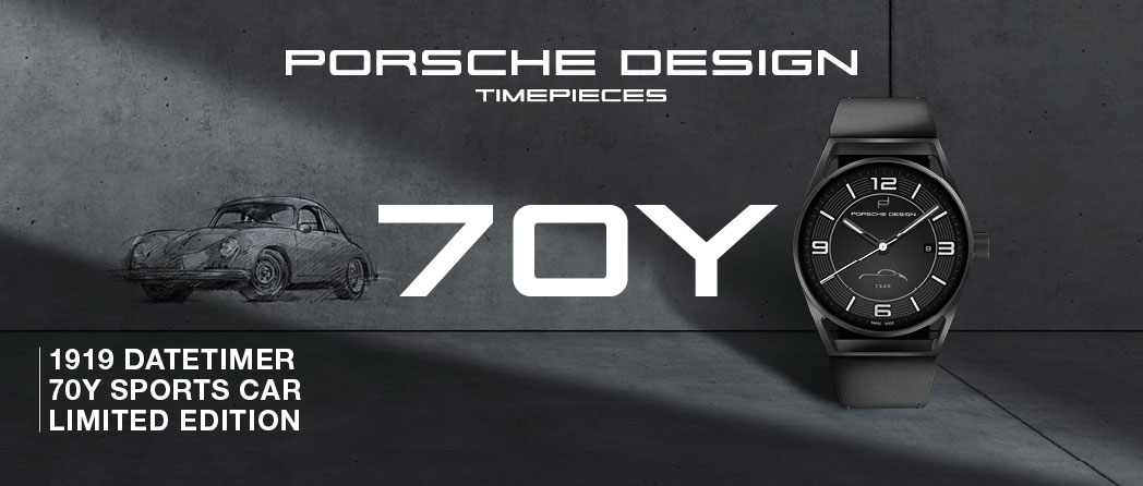 Porsche Design Timepieces 70Y Limited Edition