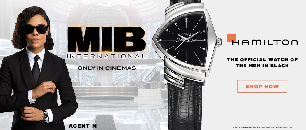 Hamilton - The official watch of the Men in Black
