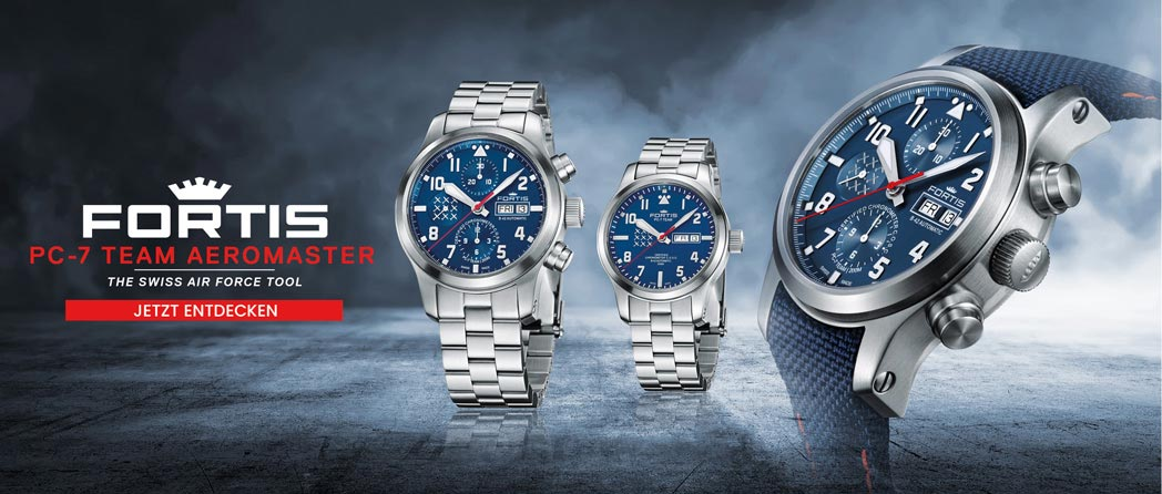 Fortis Watches - The Swiss Air Force Tool