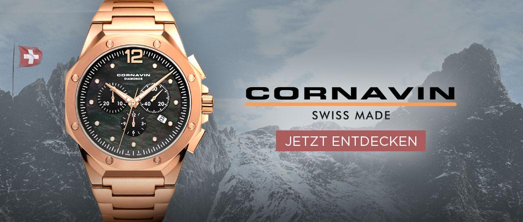 Cornavin - Entdecken Sie die Swiss Made Uhren aus Genf