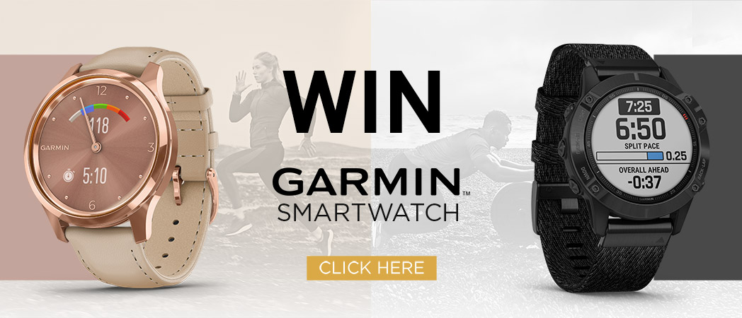 Win a GARMIN Smartwatch