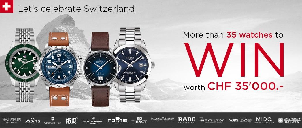 Concours Let's celebrate Switzerland 2020