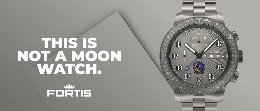 Découvrez la nouvelle montre Fortis AMADEE-20