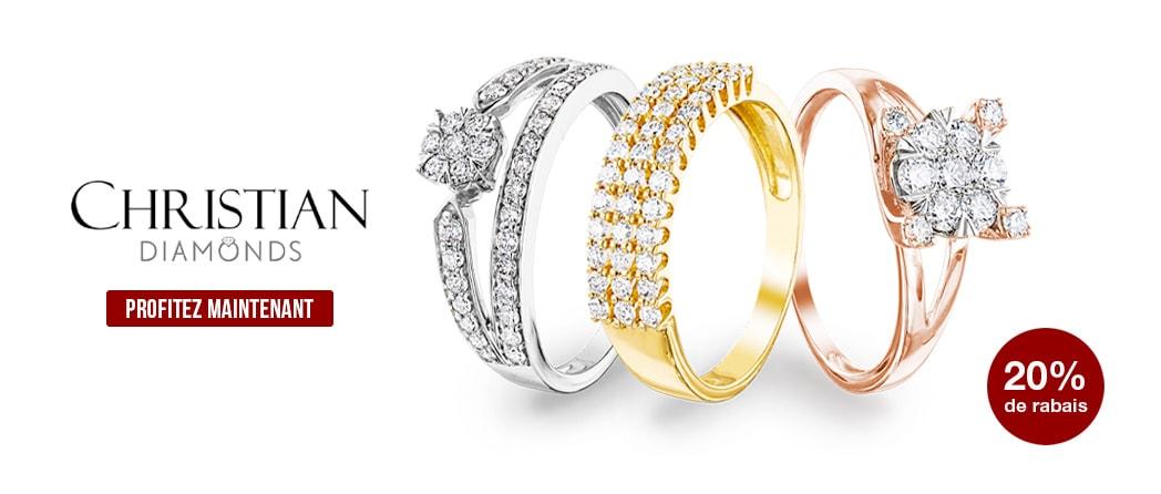 Découvrez la collection Diamonds by CHRISTIAN