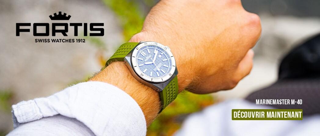 Découvrez les montres Fortis Marinemaster