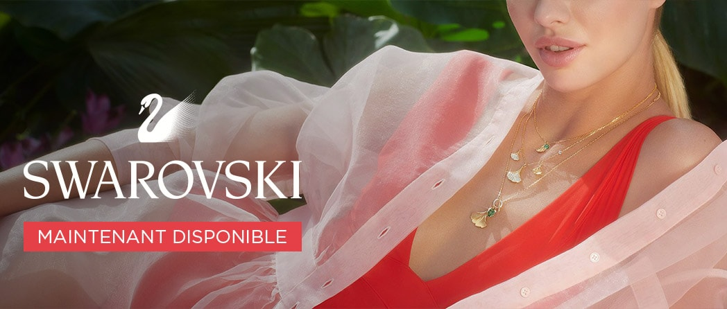 Maintenant disponible Swarovski