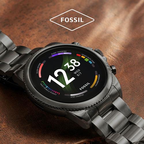 Montres connectées Fossil