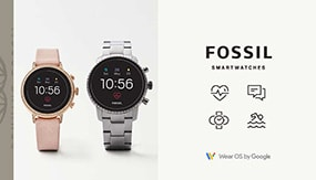 Smartwatches de Fossil