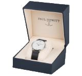 Original, dekorative Uhrenbox von Paul Hewitt