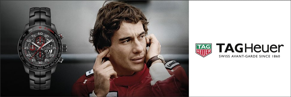 TAG Heuer Carrera Calibre Heuer 01 Ayrton Senna Sonderedition