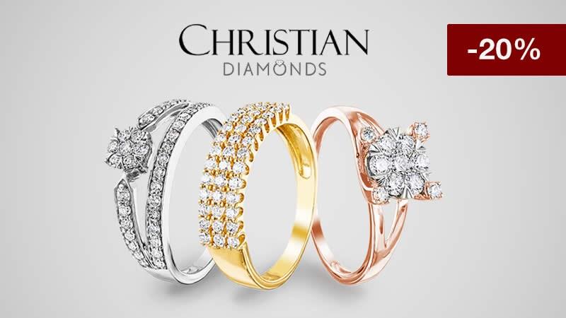 20% de rabais sur les bijoux en diamant - Profitez maintenant !